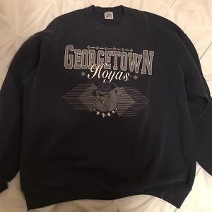 Sweaters - Vintage Georgetown Crewneck size XL